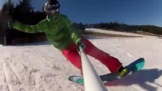 getlinkyoutube.com-Snowboard freestyle buttering zieleniec 2014 Voelkl Squad Rocker