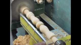 getlinkyoutube.com-Токарные работы. แท่นกลึงไม้