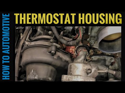How to Replace the Thermostat and Reseal the Housing on a 2002-2009 Lexus GX470
