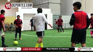 Real Madrid vs. Iramuco Liga Douglas