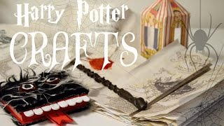 getlinkyoutube.com-⚯͛△⃒⃘ DIY HARRY POTTER CRAFTS △⃒⃘⚯͛ || Adela