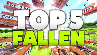 getlinkyoutube.com-TOP 5 FALLEN in Minecraft