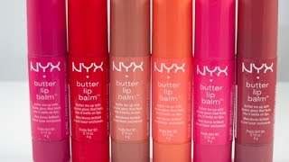 getlinkyoutube.com-{Review/First Impression} NYX Butter Lip Balm
