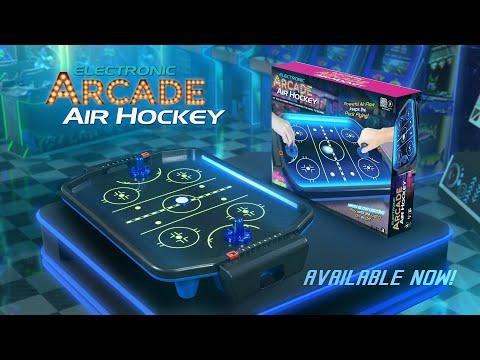 Electronic Arcade Air Hockey- NEON Series