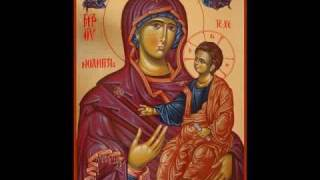 getlinkyoutube.com-Axionul De tine se bucura, glas I - orthodox music