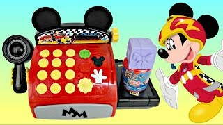 getlinkyoutube.com-Disney Junior Mickey Mouse Clubhouse Cash Register with Minnie, Dory, Gil PLUSH Toy Surprises / TUYC