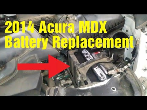 2014 Acura MDX Battery Replacement