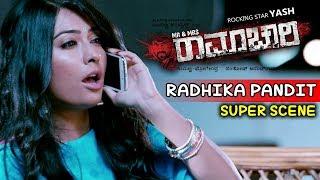 Yash Movies | Radhika Insults Yash Kannada Scenes | Mr And Mrs Ramachari Kannada Movie