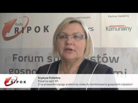 Rada RIPOK film - Krystyna Poślednia