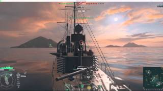 getlinkyoutube.com-World of Warships - Wickes Gameplay on Mac OS X - El Capitan (No Comments - No Sound)