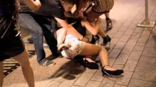 Sexy girl fight in Texas