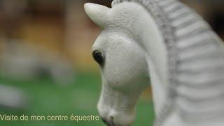 getlinkyoutube.com-(Visite N°2) 2ème visite de mon centre équestre schleich