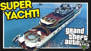 getlinkyoutube.com-GTA 5 $28,000,000 Spending Spree! GTA 5 Super Yacht!! Executives and Other Criminals Part 1