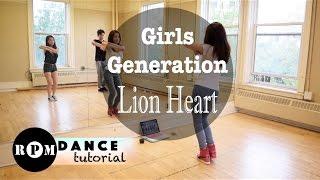 "getlinkyoutube.com-Girls' Generation ""Lion Heart"" Dance Tutorial (Chorus)"