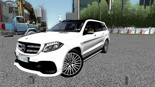 getlinkyoutube.com-City Car Driving 1.5.2 Mercedes GLS 63 AMG [G27]