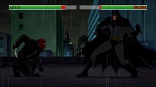 getlinkyoutube.com-Batman vs The Red Hood...with healthbars