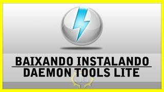 getlinkyoutube.com-Daemon Tools - Como baixar instalar Daemon tools Lite