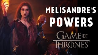All of Melisandre's Different Powers (Game of Thrones) width=