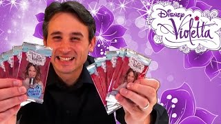 getlinkyoutube.com-Violetta Activity Cards Serie 2 - Sammelkarten zur Serie 10 Packs - Kinderkanal