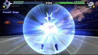 getlinkyoutube.com-Frieza 5th form transformation VS Cooler Final Form (Dragon Ball Z Budokai Tenkaichi 3 MOD)