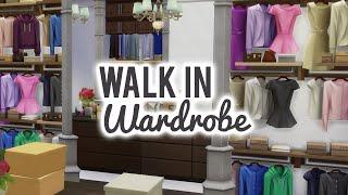 getlinkyoutube.com-The Sims 4 Room Build — Dreamy Walk in Wardrobe