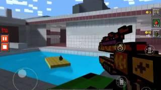 getlinkyoutube.com-Pixel Gun 3D: LEVEL 18!