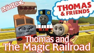 getlinkyoutube.com-Thomas and The Magic Railroad : The Chase | Accidents Will Happen Roblox Remake