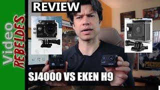 getlinkyoutube.com-Cámara EKEN H9 vs SJ4000/¿Cuál es mejor? review