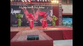 getlinkyoutube.com-Marathi Mix(Lavani) Dance College Performance