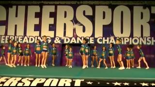 Jersey All Stars Emeralds Junior Small 2 - 1st Place & Grand Champs, Cheersport Oaks, PA  12/14/13