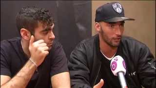 getlinkyoutube.com-Les réalisateurs du film Black, Adil El Arbi et Bilall Fallah élus Brusseleirs de l'année