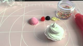 getlinkyoutube.com-マロマロ スイーツデコ 100円ショップの材料でパフェ I made parfait with the materials of the 100-yen shop