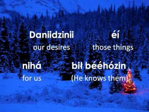 Oh, Holy Night (Lyrics in Navajo)