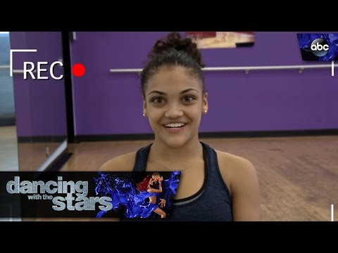Laurie Hernandez's Video Diary - Dancing with the Stars