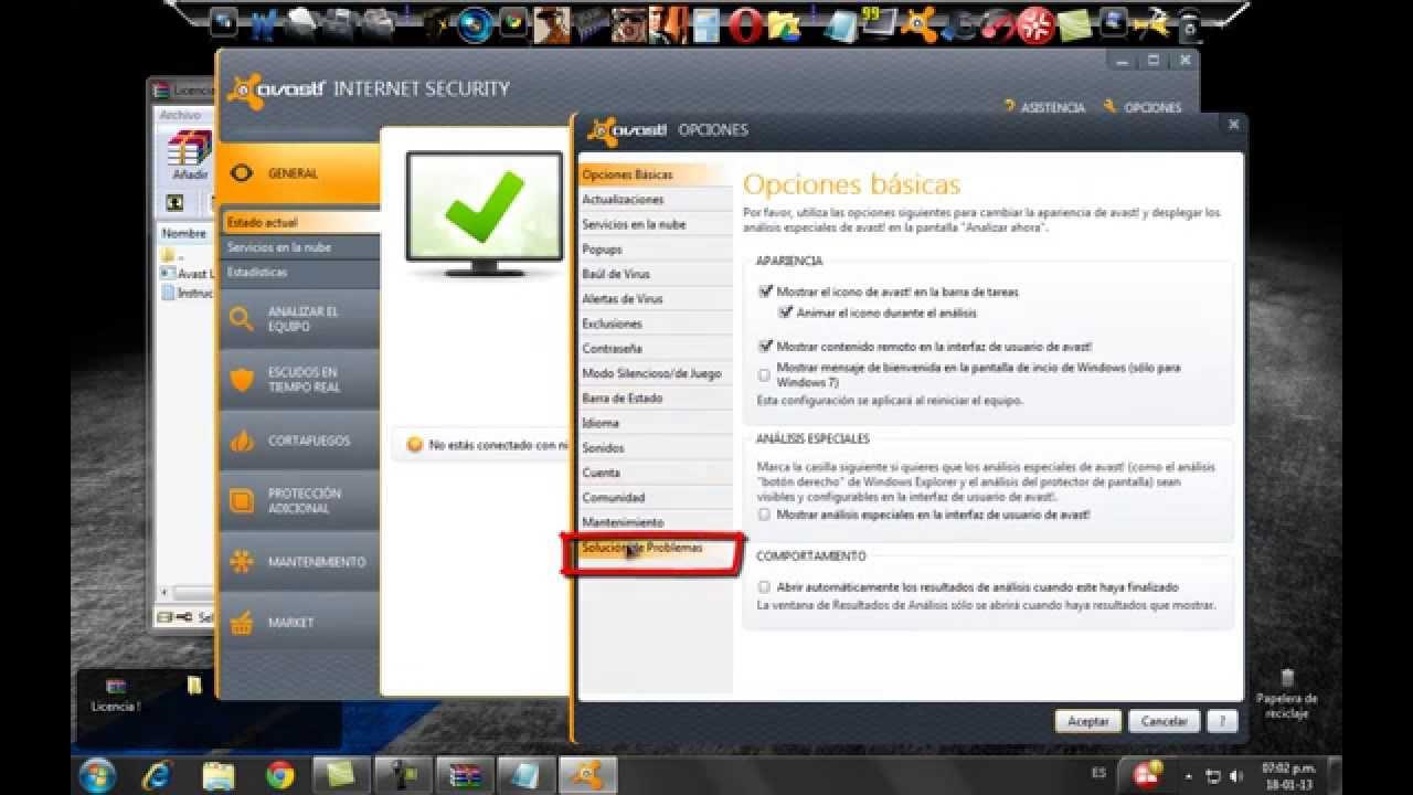descargar avast antivirus 2012 full espanol crack hasta 2038