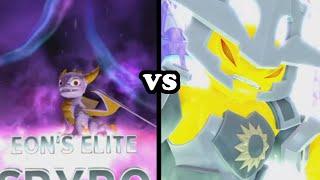 getlinkyoutube.com-Skylanders Trap Team - Elite Spyro VS Luminous