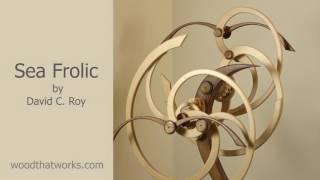 getlinkyoutube.com-Sea Frolic Kinetic Sculpture by David C. Roy