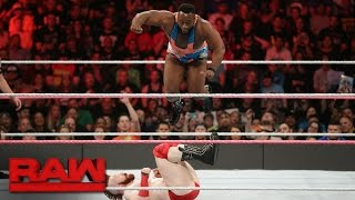 getlinkyoutube.com-Big E vs. Sheamus: Raw, Oct. 17, 2016