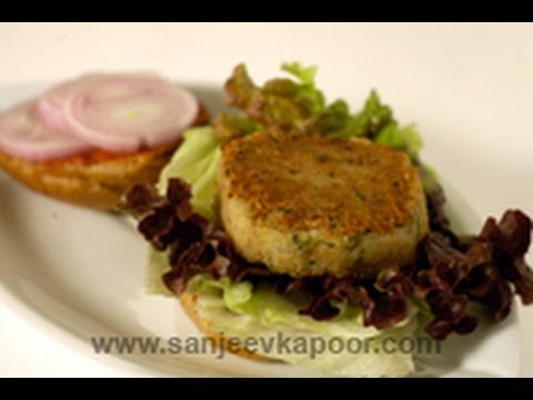 Aloo Tikki Burger (Potato Pattice Burger )