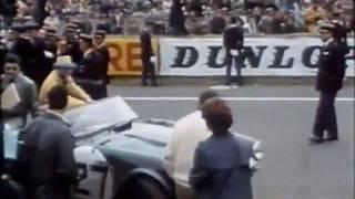 getlinkyoutube.com-Triumph TR4 (TRS) - 1961 Le Mans 24hrs (10th June 1961)