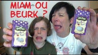 getlinkyoutube.com-Harry Potter Bertie Botts Challenge !