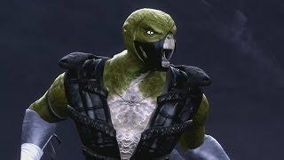 getlinkyoutube.com-Mortal Kombat Komplete Edition - Reptile - MK4 Costume/Skin *Mod* (HD)
