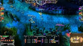 getlinkyoutube.com-League Of Legends - Vae Victis - Combat dans la fôret torturée en 3v3 [FR]