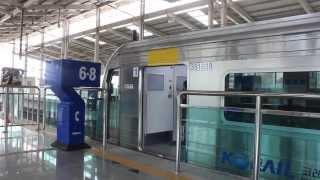 getlinkyoutube.com-[FHD]KORAIL盆唐線 竹田駅 網浦行 351000系 発車