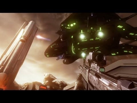 Halo 4 Spartan Ops Gameplay Co-op &amp; Missions revealed!