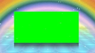 getlinkyoutube.com-4K Rainbow Looming Green Screen Projection Animation