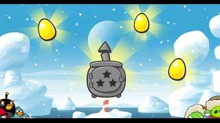getlinkyoutube.com-Angry Birds Seasons 4- Arctic Eggspedition All Gold Egg Walkthrough 3 Stars Lösung
