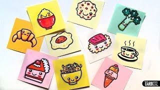 getlinkyoutube.com-How To Draw Cute Food - news Easy and Kawaii Drawings by Garbi KW