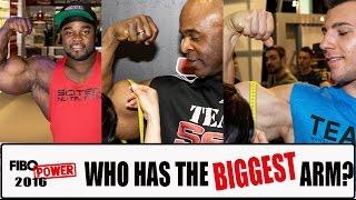 getlinkyoutube.com-Who has the biggest arm at FIBO POWER 2016?