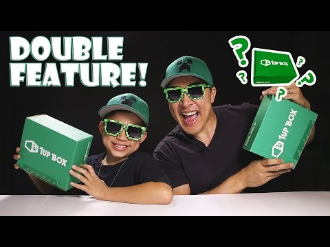 1UP BOX DOUBLE FEATURE!!! Two Mystery Surprise Boxes! [EvanTubeGaming CLASSIC]